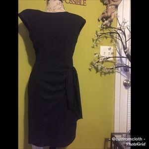 WOMENS Vintage Black Dress